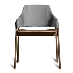 Blu Dot Clutch Dining Chair, Smoke / Pewter Blu Dot