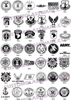 Military Logos and Corporate Identity
