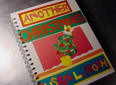 Journal  ANOTHER CHRISTMAS Book Scrapbook by theChineseLaundry