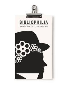 2016 Calendar  - Bibliophilia - Obvious State - 1