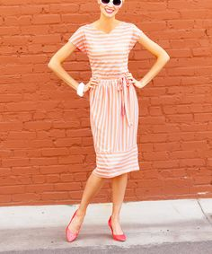 Papaya Perfection Dress | Daily deals for moms, babies and kids