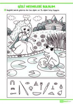 2. Sınıf Günlük Ödevler -28.05.2020- | Hidden Picture Games, Hidden Picture Puzzles, Art Books For Kids, Stories For Kids, Preschool Worksheets, Preschool Activities, Hidden Pictures Printables, Learn Arabic Alphabet, Grande Section
