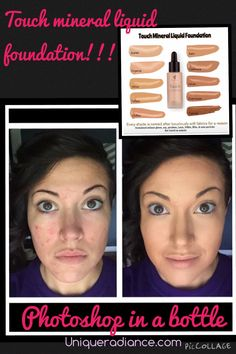 Touch mineral foundation and concealer!!! Amazing coverage http://youniqueproducts.com/TammieFoster