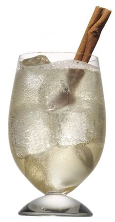 Spicy GingerMan  Ingredients:  1 oz Vanilla Vodka  1 oz Hazelnut liqueur  1/2 oz Butterscotch Schnapps  2 oz Ginger Beer  Cinnamon stick  Combine all ingredients in a shaker and shake over ice. Pour over ice into a rocks glass and garnish with Cinnamon stick.