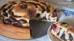 Makový točený koláč z kvásku so slivkami - Recept Bagel, Doughnut, Favorite Recipes, Bread, Food, Basket, Brot, Essen, Baking