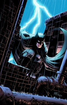 ♠ I Am The Night by Greg Capullo and Jeremiah Skipper ♠