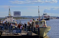 The ferry to the Bygdøy peninsula operates between March and October…
