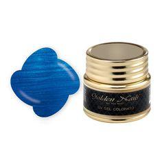 COLOR GEL 60 METALLIC BLUE - cod. GO0016/60, Ricostruzione gel - Boutique del Capello