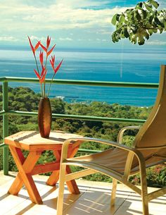 Si Como No terrace- from Costa Rica Experts romantic honeymoon vacation packages