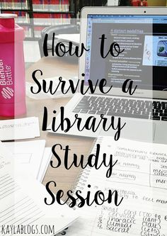 to Survive a Library Study Session Finals week is quickly approaching! Here's what you need to get through a library study session.Finals week is quickly approaching! Here's what you need to get through a library study session. College Library, College Classes, College Years, College Hacks, College Checklist, Education College, Finals Week College, Espn College, College Survival Guide
