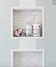 Pretty tile in the insert
