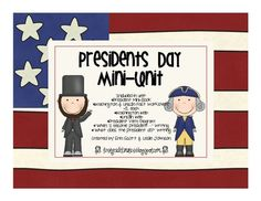 FREE President's Day mini unit