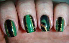Onyx Nails: Two Thor 2 - Loki Inspired Manicures