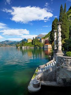 Stairs - Lake Como - Italy