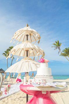Sweet table at Kukua Punta Cana