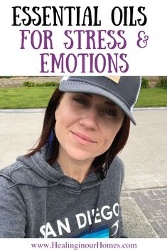 Watch and learn how to use essential oils when you are feeling stressed and to calm emotions. As moms essential oils offer natural ways to calm emotions not only when we're stressed, but can also help your children too! #essentialoils #healinginourhomes