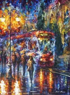 "Artist: L. Afremov ​Size:  30""x40"" (75cm x 100cm)   This print is a true piece of art.  Scanned from Original Painting TrueColor Printing Protection coating Printed on Cotton Canvas Rolled in safe carton tube or Gallery Wrapped Signed by Artist Free shipping to USA CA MX Learn more about our prints  If you have any questions, please ask here or here Customer satisfaction is our main goal. We speak English , Russian, Spanish and Hebrew  P.S. Please share this product using icons below"