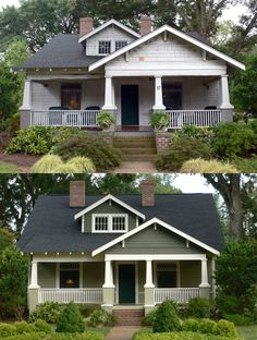 C.B.I.D. HOME DECOR and DESIGN: RENEW WITH COLOR a craftsmen home gets new paint.