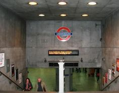 Westminster Underground Station- where Harry and Mr. Weasley pass through on their way to Harry's hearing at the Ministry.