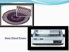 Image result for presentation on daisy wheel printer