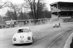Otto Mathe Porsche leading a BMW 328