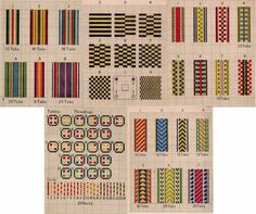 1923 Tablet Hand Weaving Book Patterns HOW-TO Build Card Carton Loom Weave Inkle