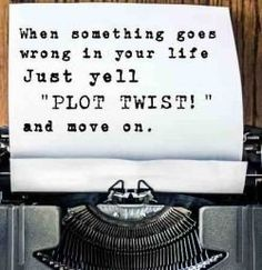 Perfect for those of us who talk in tv and film quotes. Nothing like being behind the scenes of your own story.