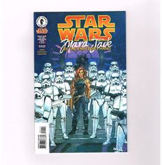 STAR WARS MARA JADE: BY THE EMPERORS HAND 6-part series from Dark Horse! NM http://www.ebay.com/itm/STAR-WARS-MARA-JADE-BY-THE-EMPERORS-HAND-6-part-series-from-Dark-Horse-NM-/291220553714?roken=cUgayN