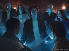 The Magicians Fan Art Contest by andyliongart on DeviantArt The Magicians Characters, The Magicians Syfy, Magician Art, Jason Ralph, Avatar Poster, Casting Pics, Call Of Cthulhu, Fantasy Photography, A Level Art