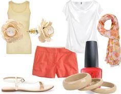 summer, created by faithbous on Polyvore