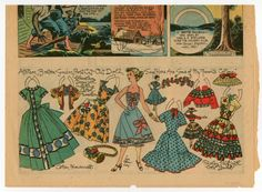 77.5850: Allison | paper doll | Paper Dolls | Dolls | Online Collections | The Strong