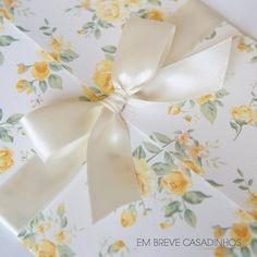 Convite Floral Jardim Amarelo