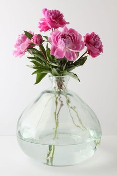 Recycled Glass Vase // Anthropologie