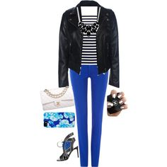 A fashion look from February 2015 featuring H&M tops, Polo Ralph Lauren jeans and Roberto Cavalli ankle booties. Browse and shop related looks.