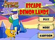Adventure Time Escape Demon Lands | juegos adventure time - hora de aventura
