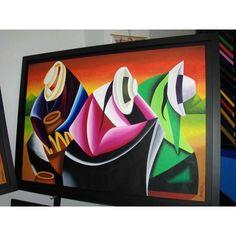 Southwestern Paintings, Southwest Art, Tableau Pop Art, Peruvian Art, Wal Art, Art Deco Paintings, African American Art, Diy Wall Art, Acrylic Art
