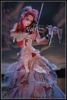 Emilie Autumn, my idol Cabaret, Sublime Creature, Bustle Skirt, Neo Victorian, Dark Beauty, Gothic Beauty, Marie Antoinette, My Idol, Girls