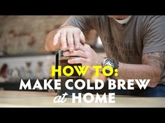 ▶ How to make Cold Brew Coffee | Mike Cooper - YouTube