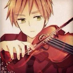 he is so beautiful while playing the violin.. now i want to lean it too ><