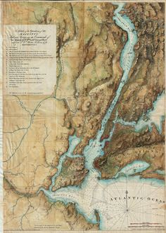 British Map of New York from 1776