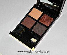 Beauty Traveller: Review and Tutorial : Tom Ford Eyeshadow Quad in Cognac Sable