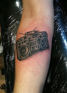 been thinking of a radio/stereo tattoo since my parents met on the radio while my dad was a disc-jockey <3