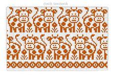 Knitting Charts, Knitting Socks, Knitting Patterns, Crochet Patterns, Crochet Chart, Knit Crochet, Cross Stitch Animals, Angel Art, C2c