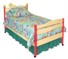 Little Lizard Twin Bed RM39-LL by Room Magic
