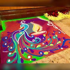 Rangoli Designs Diwali, Beautiful Rangoli Designs, Bangles, Bracelet, Decoration, Painting, Art, Bracelets, Decor