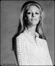 """No.83 PDF Retro Vintage Crochet Pattern Women's Filet Crochet Tunic or Dress w/ Greek Key Motif - Instant Download -  Bust 34"""", 38"""", 41"""" on Etsy, $3.85"""
