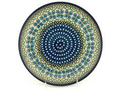 Polish Pottery 10-inch Plate | Boleslawiec Stoneware | Polmedia H4542A