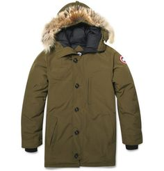 Canada Goose Chateau Coyote-Trimmed Parka Jacket | MR PORTER