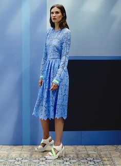 Preen Resort 2015. Read the review on Vogue.com.