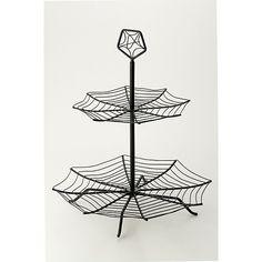 Spider Web Cupcake Stand